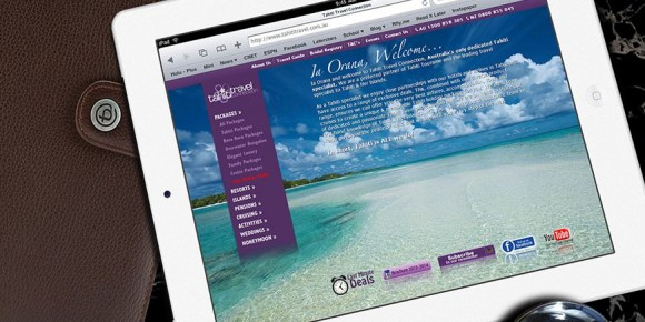 Tahiti Travel Website and Brochure