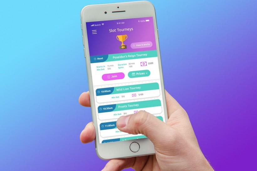 Slot Tourney App Design
